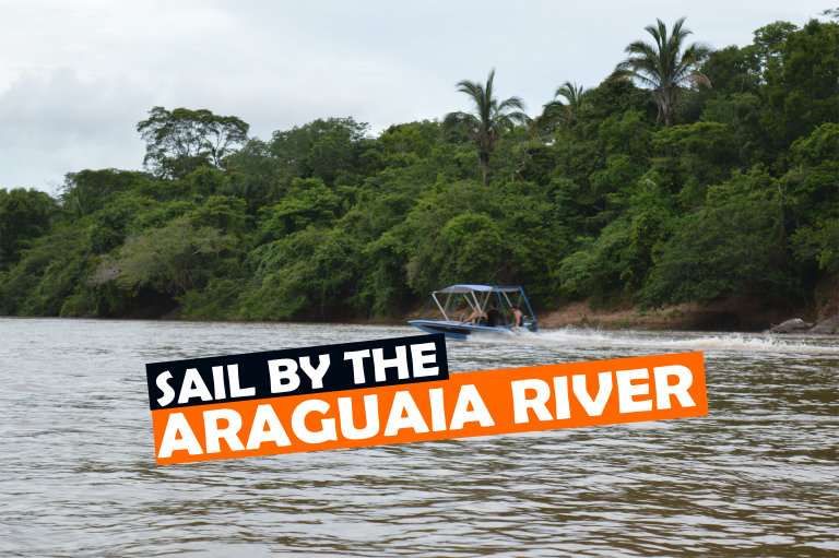 Sail by the Araguaia river, Brazilian Cerrado