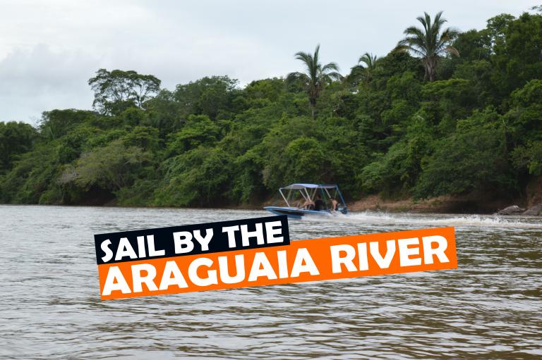 SAIL BY THE ARAGUAIA RIVER, Brazilian Cerrado