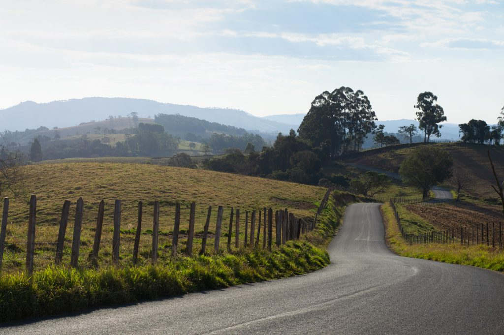the beautiful roads of mu trip for 9 amazing cities to visit in Minas Gerais, motorcycle trip